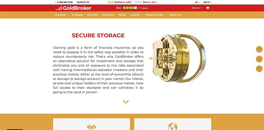 Goldbroker fiable